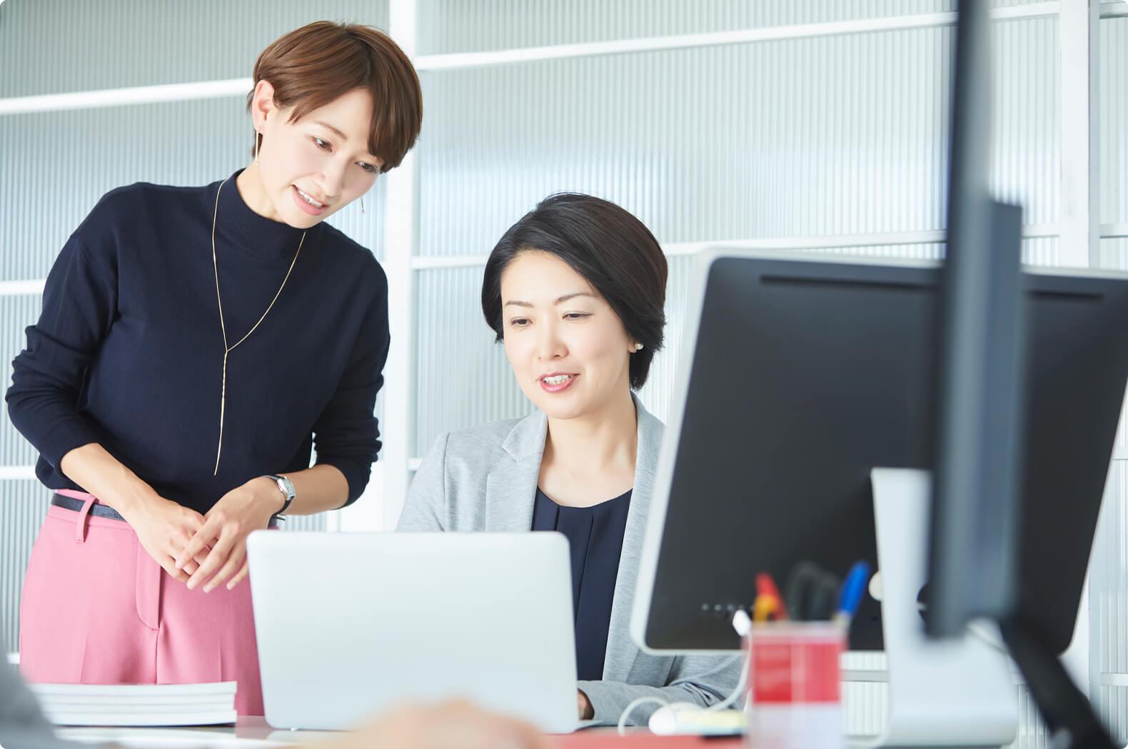 対話型求人人サイト あなたの声を実現します。 あなたの求める職場・「ちょうどいい」働き方へ 繋げます!
