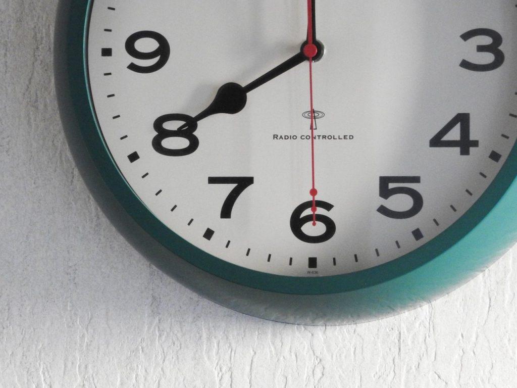 時間固定勤務のアイキャッチ
